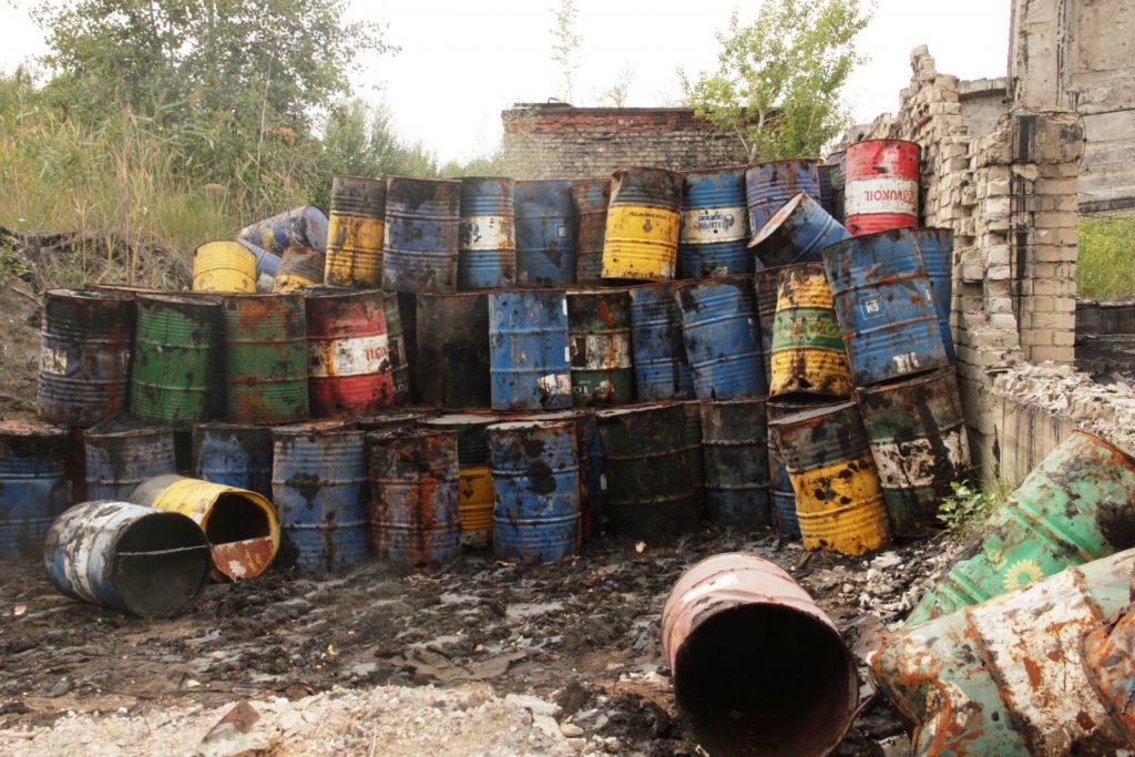 Переработка отработанного масла в дизельное топливо