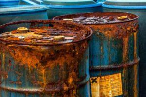Отработанное компрессорное масло