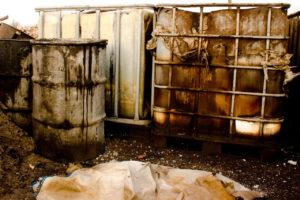 Отработанное трансмиссионное масло