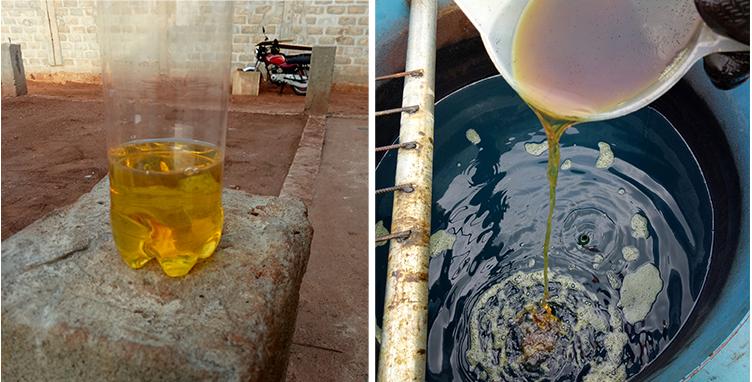 Очистка промышленного масла