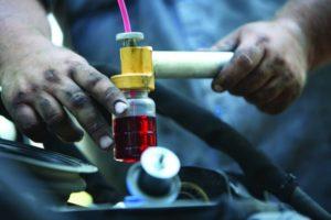 Отработанное синтетическое масло