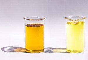 Отработанное светлое масло